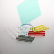 polycarbonate material 50 micro meter UV coated corrugated plastic sheet