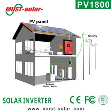 <Must Solar> PV1800 series 2000VA 3000VA 4000VA 5000VA high frequency off-grid MPPT/PWM south africa solar inverter