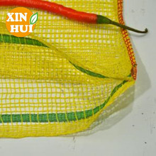 PP or PE material vegetable fruit packaging onion mesh bag net