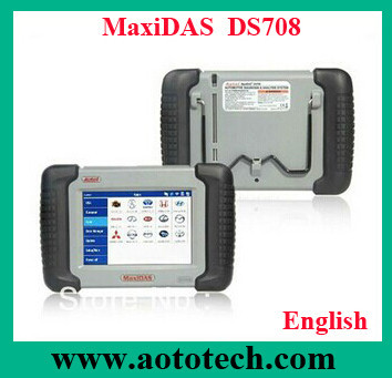 Most popular autel maxiDSA DS708 carman car diagnostic scan tool with wifi