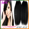 Straight Hair Machine Weft Double Drawn Natural Yak Tail Hair Straight Yak Tail Hair Wefts