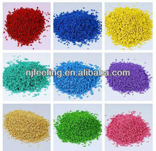 Colored EPDM Rubber Granules for kindergarten playground, badminton, basketball, tennis sports floor-FN-A-15092302