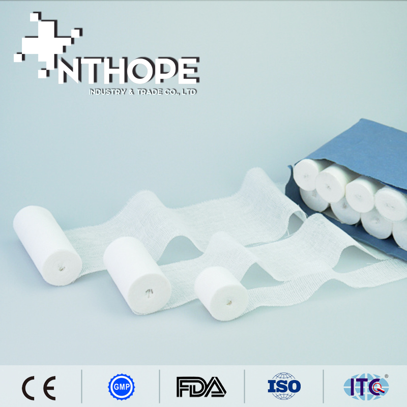 100%cotton fabrics medical product different types of bandages