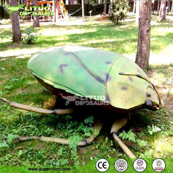 Giant Crazy Insect Model Animatronic Amusement Insect for Park