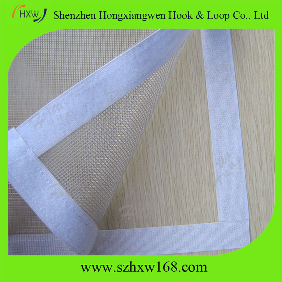 Acrylic adhesive backed hook and loop /super glue hook loop strap/high quality Self-adhesive Hook loop strap/strong self-adhesive Sticky back Hook loop/Self-adhesive hook and loop tape .jpg