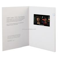 2014 Hot 4.3 inch Video player brochure /LCD greeting Card/video advertising book