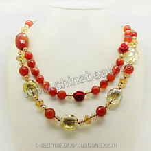 Fashion Gemstone Necklaces In Stock Contemporary Fashion Trends Elsa Necklace