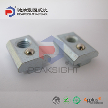 10mm Roll-in T-Slot Nut Self-aligning with Spring Loaded Ball, T-Nut, T-Slot Nut
