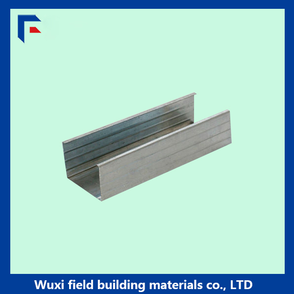 Hot dipped galvanized gypsum board drywall metal stud and track