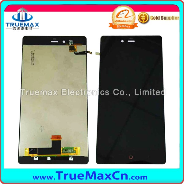 Hot Selling Original LCD Assembly Display Touch Screen Digitizer Replacement for ZTE Nubia Z9 Max NX510J NX512J