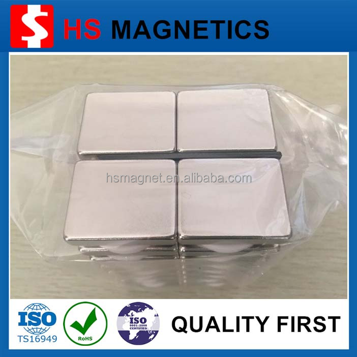 Strong Nickel N35 N42 N52 Neodymium Block Magnet