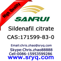 High purity cas 171599-83-0 Sildenafil citrate