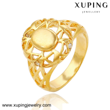 13655 xuping fake wedding jewellery gold ring in pakistan