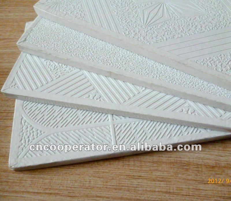 Pvc Laminated Gypsum Board : Pvc laminated gypsum ceiling board buy