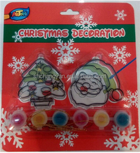 6 ct strips suncatcher paint set, christmas Paint Set for Kids, funny Suncatcher Painting