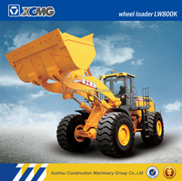XCMG official manufacturer LW800K 8ton 25hp 4wd mini tractors with front end wheel loader