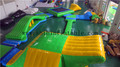 Adult inflatable water park, inflatable floating water park