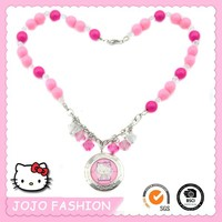 Sanrio hello kitty plastic bead necklace for kids