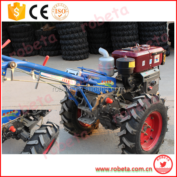 farm machinery equipment small walking tractor with trailer