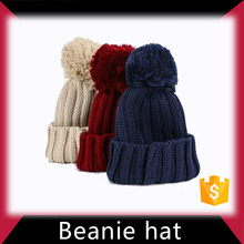 Children kid knitted beanie hat made in China