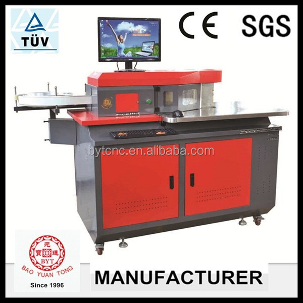 sign making channel letter bending machine for aluminum and stainless steel material