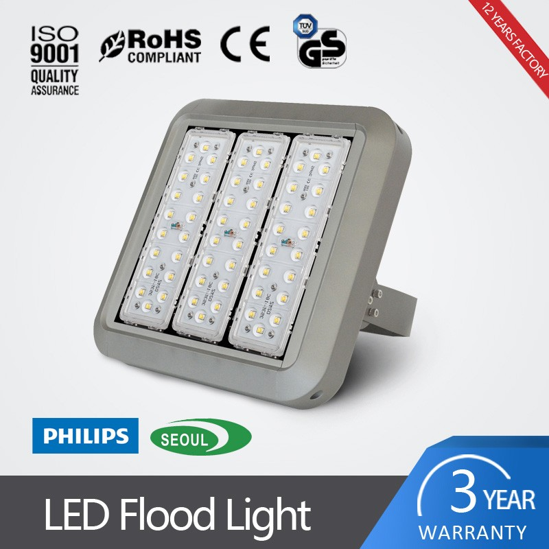 low repaired energy saving alumium housing 100W led module flood light