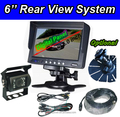 6 inch car monitor and digital back up camera system for bus or truck