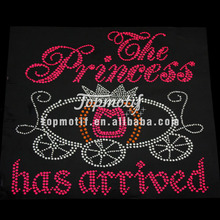 Birthday Custom Rhinestone Transfers The Princess Has Arrived
