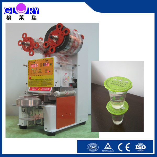 auto cup filling and sealing machine