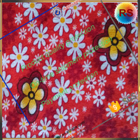 popular 100% polyester fabric printed