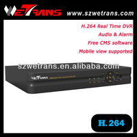 WETRANS TD-5204 4CH Real Time Network H.264 Hd Driver Recorder Mini DVR Camera