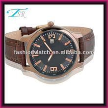 leather strap watches first quality japan movement china direct watch 3atm water resistant stainless steel watch case