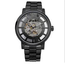 China Suppliers Skeleton Mechanical Watch Winner For Men