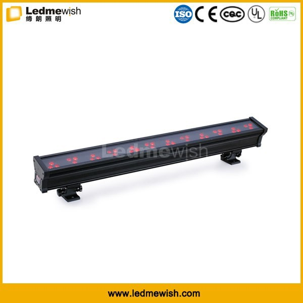 high power Full RGB dmx 36x3w led wall washer