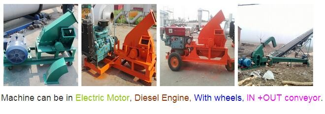 Factory Manufacture drum wood chipper brands