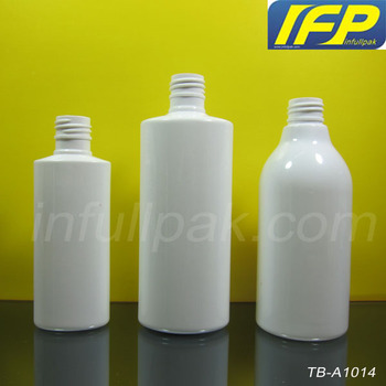 4oz/8oz White Oval Shape Plastic PET Bottle