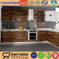 different patterns plastic facades for kitchen cabinets