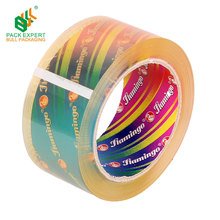 Factory wholesale low noise or no noise carton sealing tape super clear tape crystal strong adhesive tape with FREE SAMPLE