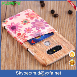 2016 alibaba china best sellers hot wholesale wood case for lg light weight slim wooden skin card slot case for LG G5
