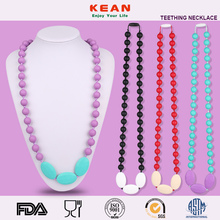 Kean Chew Beads Nursing Necklace - Teething Wood Necklace,Fashion Accessory