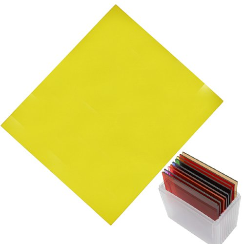 yellow Plexiglass Filter for Cokin P series Color Conversion