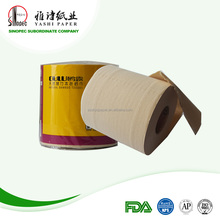 Unbleached Bathroom Toilet Tissue Bamboo Paper