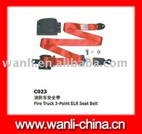 fire truck 3point ELR safety seat belt(C023),automotive safety seat belts