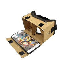 High quality China supplier magnetic google Cardboard VR 3D viewing glasses paper packaging box
