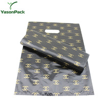 yason plastic fiber handle bag soft loop handle bags for gifts handle bag with scarf