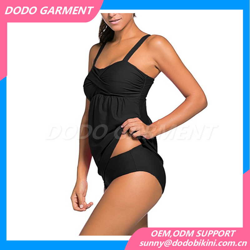 2017 Black Swimsuit Swimwear One Piece Beachwear Bathing Suit Sexy Tankini