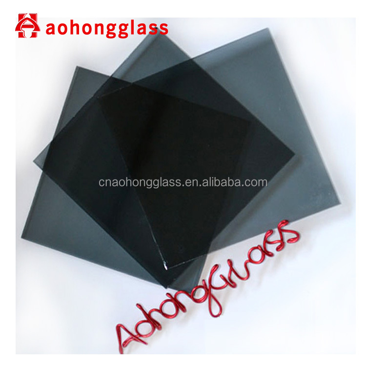 8mm 10mm Dark Grey Tinted Tempered Glass