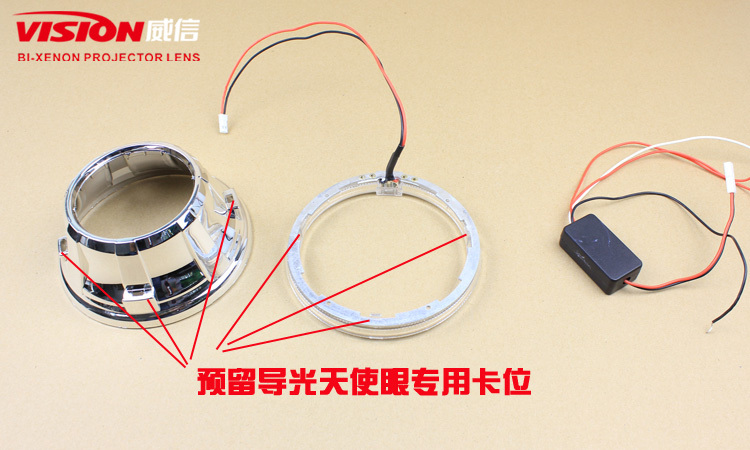 Bi xenon projector lens light for all cars with good price