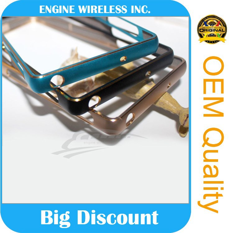 escrow service metal bumper case for samsung galaxy s5 mini