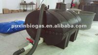 Chinese food waste treatment fiberglass biogas digester